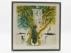 Salvador Dal The Emerald Of The Tablet Salvador Dali Silk Serigraphy 1976 1989 2000  - 1072608