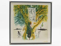 Salvador Dal The Emerald Of The Tablet Salvador Dali Silk Serigraphy 1976 1989 2000  - 1072613