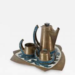 Salvador Teran 1960s Salvador Teran Coffee Set - 813236