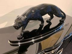 Salvatore Melani Big Art Deco Panther Black Lacquer France Paris circa 1940 - 1576679