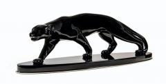 Salvatore Melani Big Art Deco Panther Black Lacquer France Paris circa 1940 - 1576692