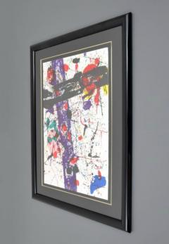 Sam Francis Large Sam Francis Lithograph Signed Limited Edition - 150848