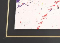 Sam Francis Large Sam Francis Lithograph Signed Limited Edition - 150856