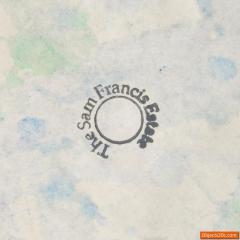 Sam Francis Sam Francis Painting SF78 1191 Original Work - 536680