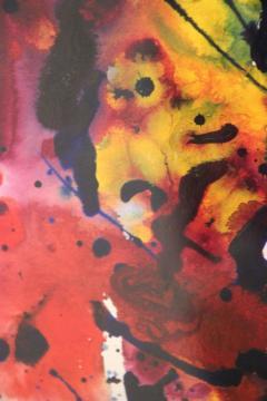 Sam Francis Sam Francis Untitled SF76 197 1976 Acrylic on Paper - 126693