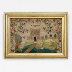 Sampler by Ann Evans England 1845 - 667904
