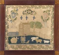 Sampler by Ann Margarett Miller Philadelphia area PA 1830 - 667858