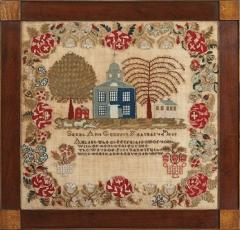 Sampler by Sarah Ann Graffin Lehigh Valley PA 1839 - 667840