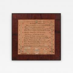 Sampler by Sarah Smithers Milford Hundred Kent County Delaware 1838 - 667901
