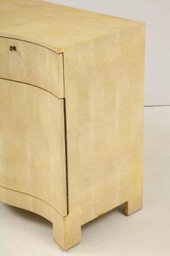 Samuel Marx Large Two Door Chest in the style of Samuel Marx in Faux Shagreen - 1529738