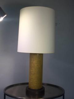 Samuel Marx RARE 1940S MODERNIST FRACTURED RESIN LAMPS - 869599