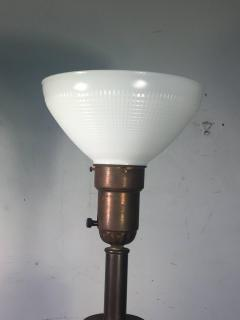 Samuel Marx RARE 1940S MODERNIST FRACTURED RESIN LAMPS - 869605