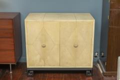 Samuel Marx Samuel Marx Style Parchment Clad Cabinet - 1089262