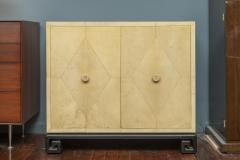 Samuel Marx Samuel Marx Style Parchment Clad Cabinet - 1089263