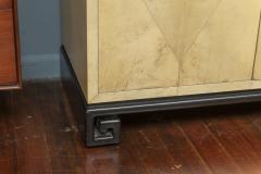 Samuel Marx Samuel Marx Style Parchment Clad Cabinet - 1089270