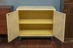 Samuel Marx Samuel Marx Style Parchment Clad Cabinet - 1089271