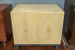 Samuel Marx Samuel Marx Style Parchment Clad Cabinet - 1089274
