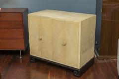Samuel Marx Samuel Marx Style Parchment Clad Cabinet - 1089276