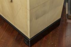 Samuel Marx Samuel Marx Style Parchment Clad Cabinet - 1089277