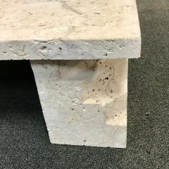 Samuel Marx Samuel Marx style of Natural Coquina Stone Coffee Table - 1903823