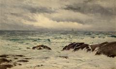 Samuel Peter Rolt Triscott A Chop Sea Monhegan - 1209569
