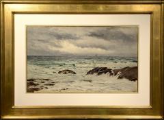 Samuel Peter Rolt Triscott A Chop Sea Monhegan - 1209570