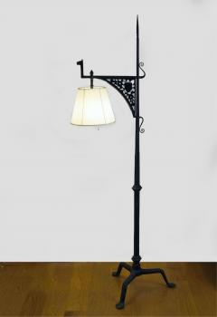 Samuel yellin gothic floor lamp samuel yellin gothic floor lamp 255345 mozeypictures Images