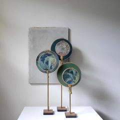Sander Bottinga Circle Blue Grey Table Lamp Sander Bottinga - 1282220
