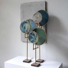 Sander Bottinga Circle Blue Grey Table Lamp Sander Bottinga - 1282221