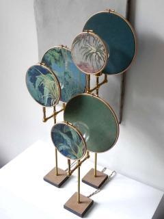 Sander Bottinga Circle Blue Grey Table Lamp Sander Bottinga - 1282223