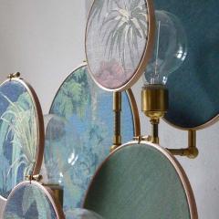 Sander Bottinga Circle Blue Grey Table Lamp Sander Bottinga - 1282226