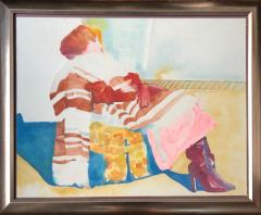 Sandra Jones Campbell Woman In The Chair - 1231118