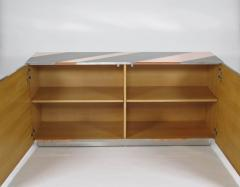 Sandro Petti Geometric metal cabinet - 1143812