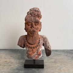 Sandstone Carving of a God Agni India Circa 12th Century - 1506959