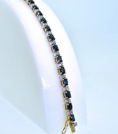Sapphire and Diamond Bracelet - 1139568