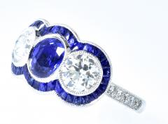 Sapphire and Diamond Ring - 1201247