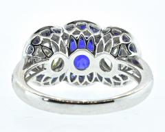 Sapphire and Diamond Ring - 1201249