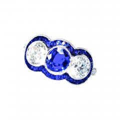 Sapphire and Diamond Ring - 1203542