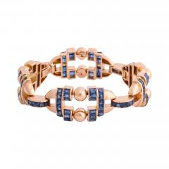 Sapphire and Gold Bracelet by G belin - 1180858