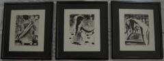 Sarah Brayer Rare Portfolio of Three Lithographs The Bath by Sarah Brayer - 305312