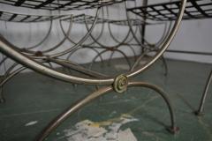 Savonarola Style Steel Dining Chairs - 1132784