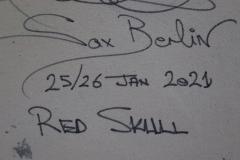 Sax Berlin Red Skull - 1820455