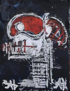 Sax Berlin Red Skull - 1820459