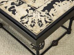 Scagliola Coffee table Italian Work - 1709979