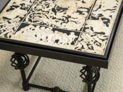 Scagliola Coffee table Italian Work - 1709980