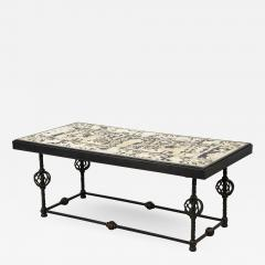 Scagliola Coffee table Italian Work - 1712239