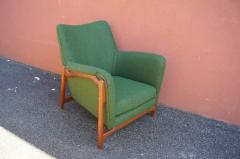 Scandanavian Modern Walnut Lounge Chair - 982981