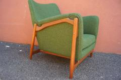 Scandanavian Modern Walnut Lounge Chair - 982983