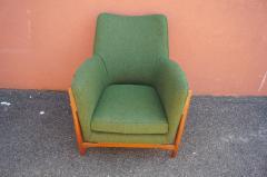 Scandanavian Modern Walnut Lounge Chair - 982984