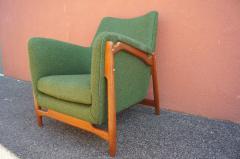 Scandanavian Modern Walnut Lounge Chair - 982985